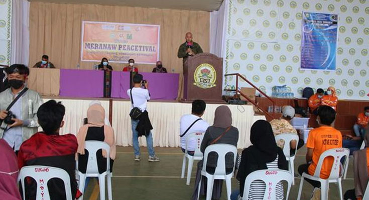 55IB JOINS YOUTH PEACETIVAL