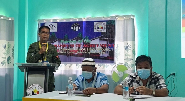 NHA-LGUs SIGN MOA FOR FRs AND IP HOUSING PROJECTS IN REGION 9