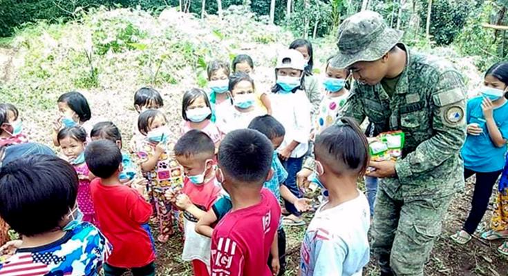 Pulong-Pulong (Community Information Drive) at pagkundena sa mga teroristang grupo sa Brgy Riray, Madalum, LDS.