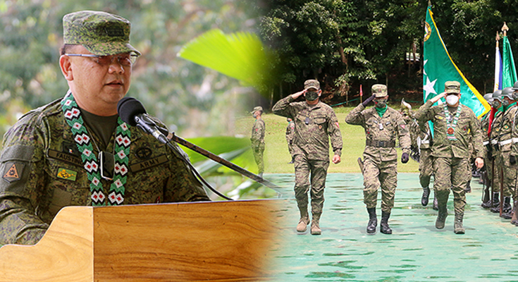 """Philippine Army's New Commanding General visits 1st Infantry """"Tabak"""" Division"""