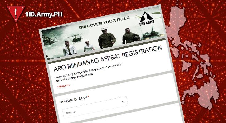 Tabak Registration for AFPSAT Examination