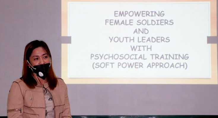 53IB, GLPS Empower Female Soldiers, Youth Leaders with Psychosocial Training for FRs