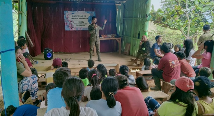 Empowering Communities: Army, LGU Work together to set priorities, services in Dumingag Hinterlands