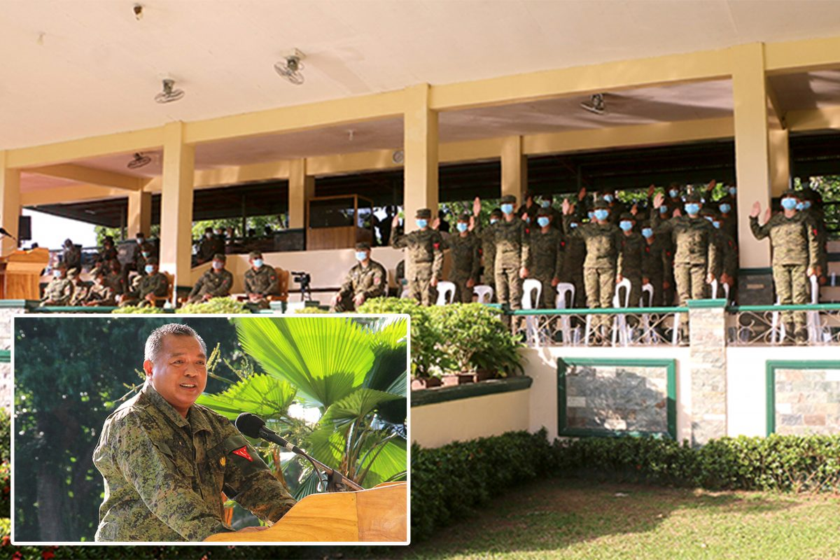 New Recruits with Special Skills Take Oath