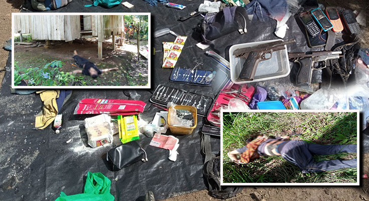 NPA TERRORIST LEADER KILLED IN A CLASH WITH GOVERNMENT FORCES IN ZAMBO SUR