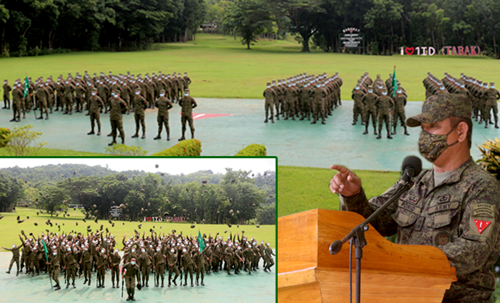 Tabak Division welcomes 194 new soldiers