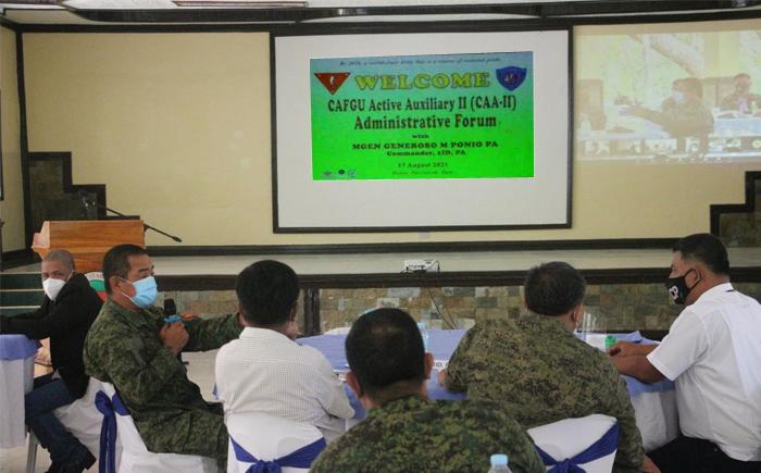 1ID holds CAA-II Administrative Forum