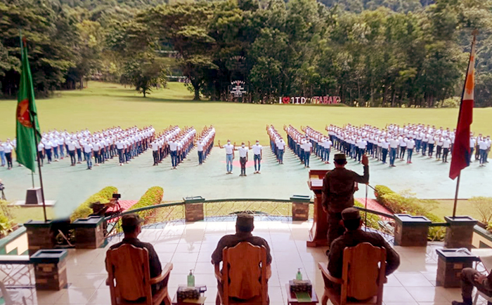 New recruits take oath at Tabak Division