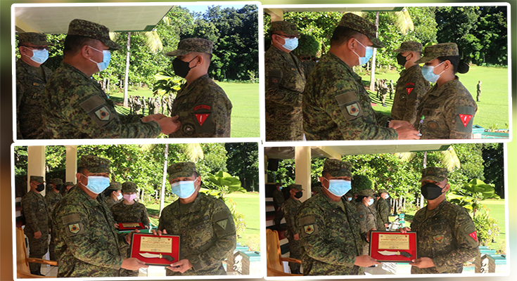 TODAY @ TABAK | 4 Tabak troopers receive awards